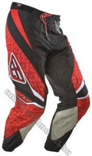 97f9b92d18 Fly Racing '09. kinetic cross nadrág (piros-fekete)