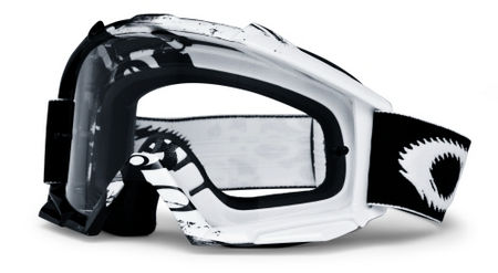 OAKLEY Proven MX Black White Storm Clear cross szemüveg 443ee528fb