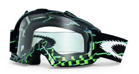 OAKLEY Proven MX Brake Check Green Clear cross szemüveg 8d4fa00e60