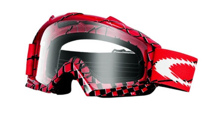 OAKLEY Proven MX Brake Check Red Clear cross szemüveg 9370c0db7c