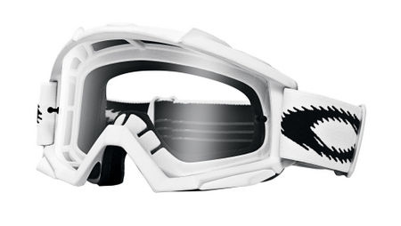 OAKLEY Proven MX Matte White Clear cross szemüveg 4863b0476b