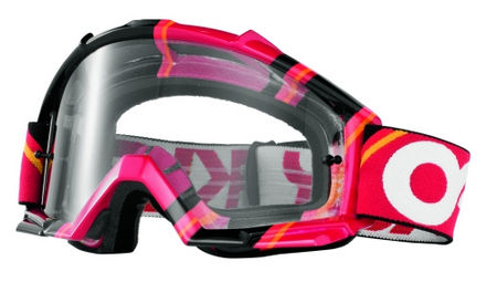 OAKLEY Proven MX Red Victory Stripes Clear cross szemüveg faca0c62a4