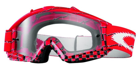 OAKLEY Proven OTG MX Red Brake Check Clear cross szemüveg 421278aa84