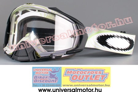 OAKLEY Mayhemv MX Swell Fade Green Clear cross szemüveg 1ca2f54e05