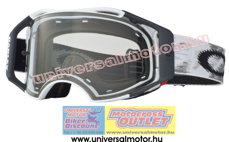 OAKLEY Airbrake MX Matte White Speed Clear cross szemüveg 256020727d