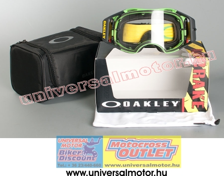 ... Oakley Airbrake MX Green Yellow Retro Speed Clear cross szemüveg 49b1c96b65