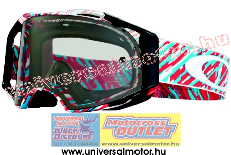 OAKLEY Airbrake MX Rain of Terror Clear cross szemüveg 39c2fcd3fa