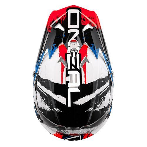 Oneal 3Series SHOCKER black-blue-red cross bukósisak 2016 3ff1fb4a2d