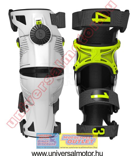 Mobius X8 knee brace MX térdgép White -Acid Yellow ... 712a81ff60